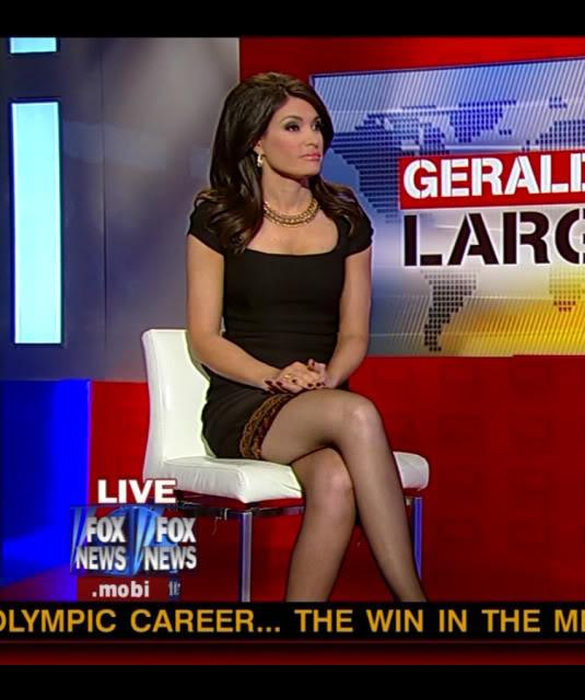 spread Fox legs news women
