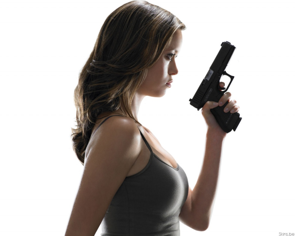 Girls with guns.   IGN Boards