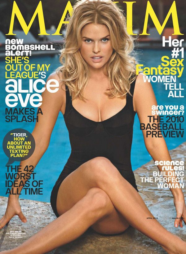 alice eve she s out of my league