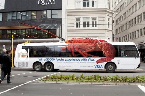 lobster bus advertisement