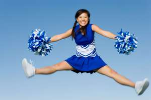 cheerleading girl